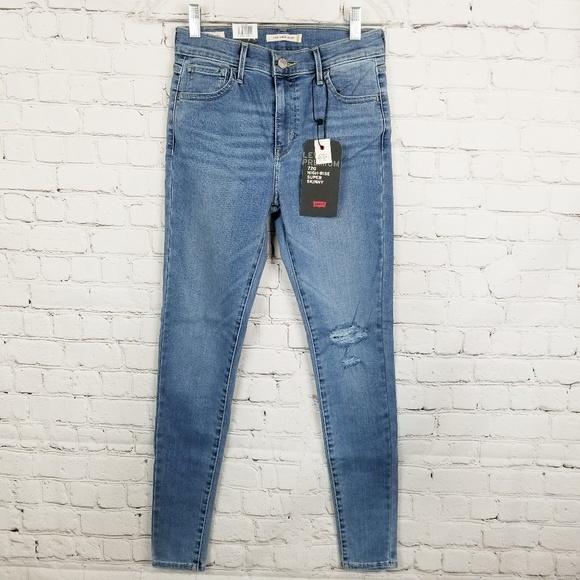 30f0b60f Levi's Jeans | Levisw25 L28 Premium 720 Hirise Super Skinny | Poshmark